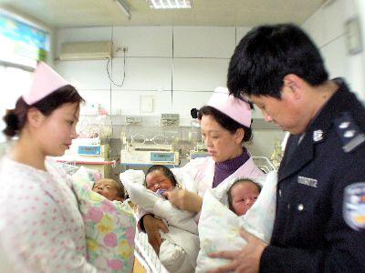 出生不久的婴儿。(资料图)