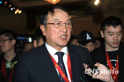 资料图:柳传志。图片来源:中国新闻网