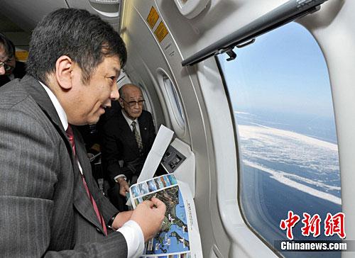 资料图:2011年2月,时任日本内阁官房长官枝野幸男。