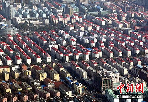 居住区资料图。中新社记者 汤彦俊 摄