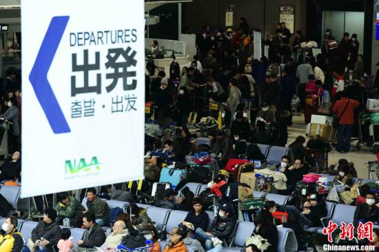 材料图:日本成田机场。 a target='_blank' href='http://www.chinanews.com/'种孤社/a收 侯宇 摄