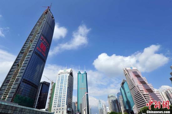 资料图:深圳经济特区。<a target='_blank' href='http://www.chinanews.com/'>中新社</a>发 陈文 摄