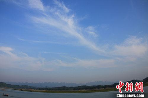 资料图:沅江。杨华峰 摄