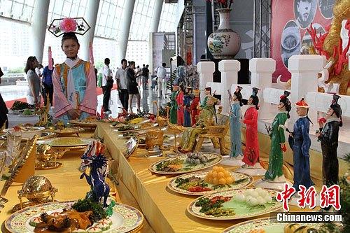资料图片:中国美食。