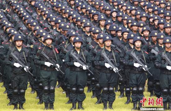 国防部:武警部队根本职能属性没有发生变化