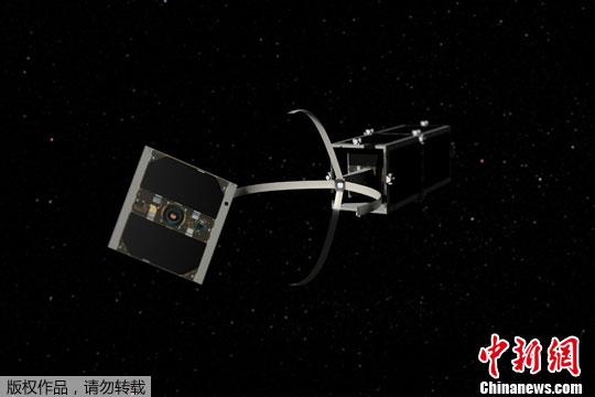 """2月15日,据瑞士联邦高等理工学院的瑞士空间中心报道,瑞士2009年发射的立方体卫星之一�D�D""""CleanSpace""""一号已抵达预定工作轨道。"""