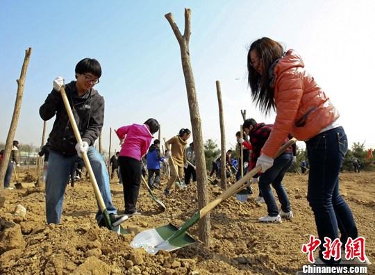 最新线上赌博平台:今年北京市计划义务植树100万株