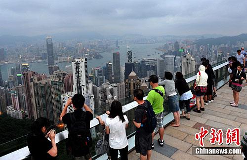 香港天文台新增实时天气照片 便利旅客市