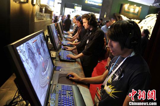 资料图:电子游戏。中新社发 毛建军 摄