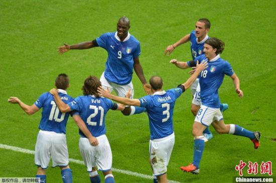 意大利队 资料图。