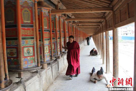 世界藏学府拉卜楞寺 华夏文明传承创新区 绚丽甘肃图集