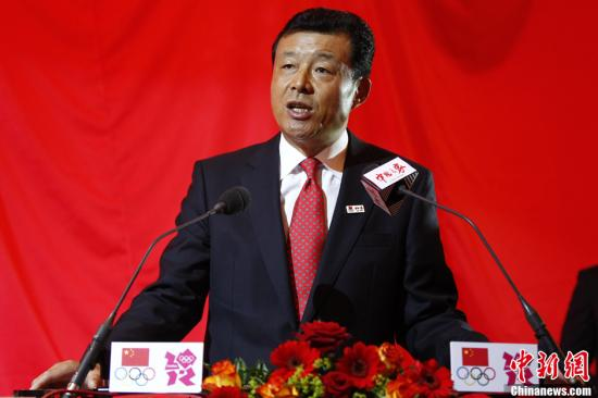 图为中国驻英大使刘晓明。记者 富田 摄