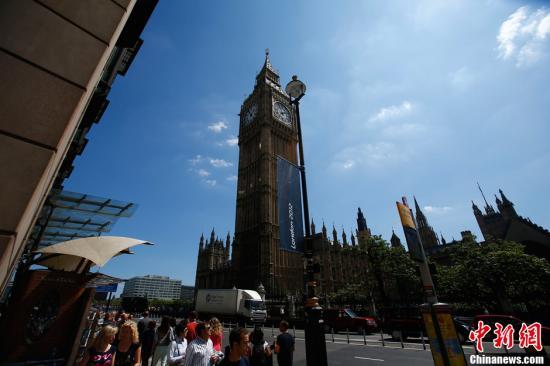 资料图:伦敦大本钟。记者 富田 摄