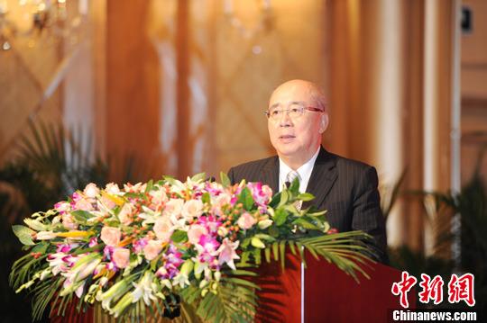 资料图:吴伯雄 <a target='_blank' href='http://www.chinanews.com/'>中新社</a>发 刘长山 摄