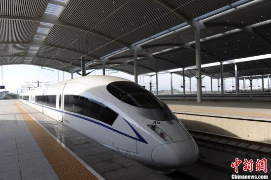 中国国内速度最高的高速列车整车碰撞试验成功