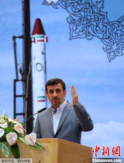 伊朗总统穆罕默德・内贾德。