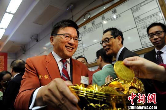 资料图片:香港特区政府财经事务及库务局前局长陈家强。<a target='_blank' href='http://www.chinanews.com/'>中新社</a>发 谭达明 摄