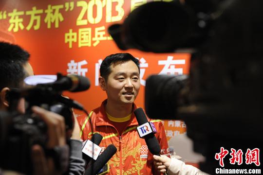 国家乒乓球队女队主教练孔令辉 资料图。中新社发 崔楠 摄