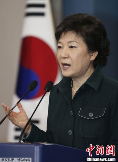民调:朴槿惠支持率时隔8周升至两位数 达到10.5%