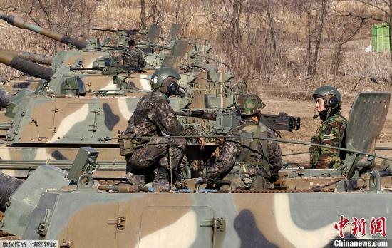 资料图:2013年韩美联合军演。
