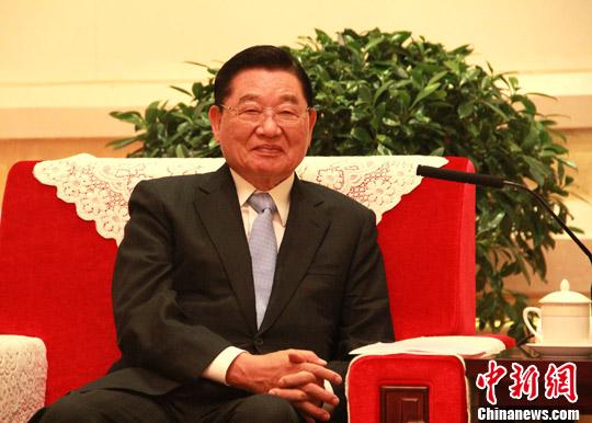 江丙坤:希望台商勿忘善尽对两岸和平的责任