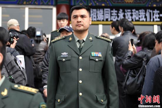 """资料图:""""战神""""刘玉栋。<a target='_blank' href='http://www.chinanews.com/' >中新网</a>记者 金硕 摄"""