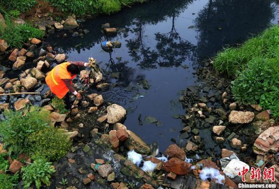 生态环境部:全国地级及以上城市黑臭水体消除比例达98.2%
