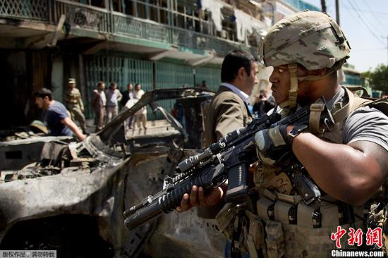 资料图:驻阿富汗美军士兵。