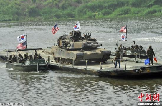 材料图:好韩军演。