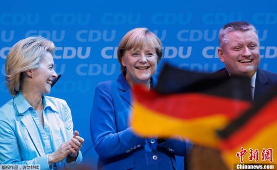 德大选将举行默克尔民调领先投票率偏低成隐忧