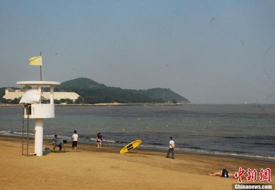 资料图:澳门黑沙海滩。<a target='_blank' href='http://www.bet57.net/'>中新社</a>发 毕永光 摄