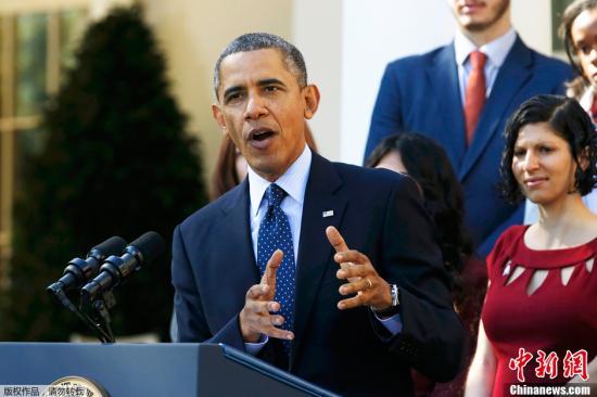"""奥巴马社交账户被黑 其遭批""""监听世界"""""""