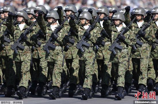 资料图:日本自卫队。
