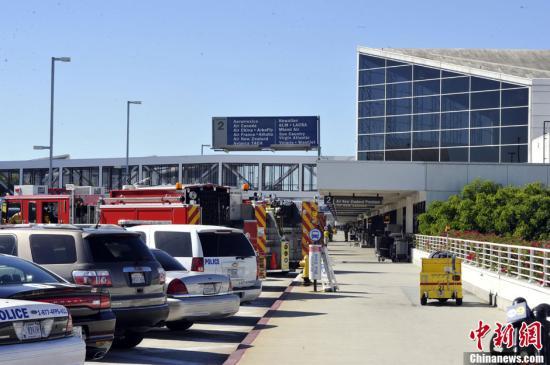 资料图:美国洛杉矶国际机场。<a target='_blank' href='http://www.chinanews.com/'>中新社</a>发 毛建军 摄