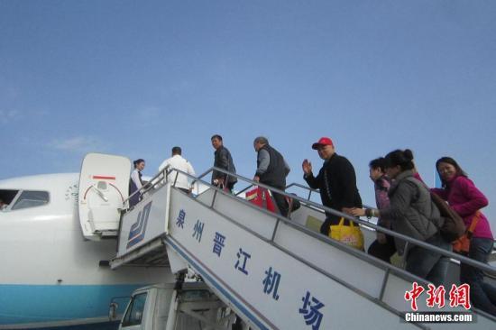 祸建泉州晋江机场。(材料图片)a target='_blank' href='http://www.chinanews.com/'种孤社/a收 孙虹 摄