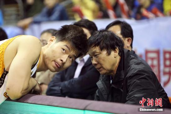 资料图:因合同问题,王兴江没能将刘帅带入CBA。中新社发 张云 摄