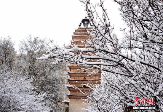 春城昆明迎今冬初雪