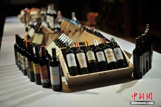 资料图:葡萄酒。中新网记者 金硕 摄