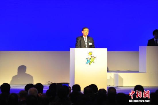 资料图片:日本自民党前干事长石破茂。
