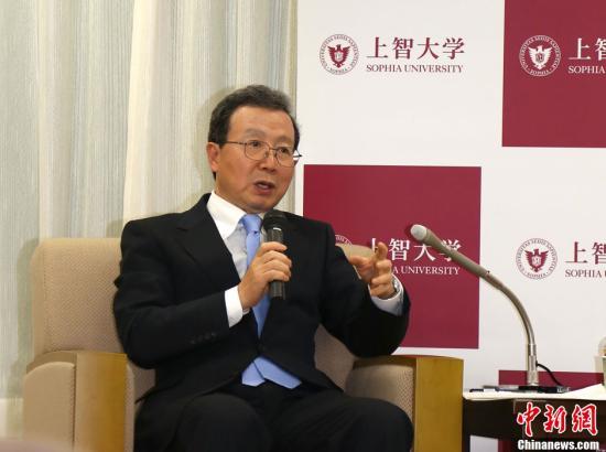 资料图片:中国驻日大使程永华。中新社发 高越 摄