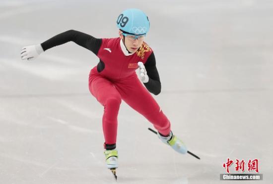资料图:中国选手韩天宇在比赛中。 <a target='_blank' href='http://www.chinanews.com/'>中新社</a>发 刘关关 摄