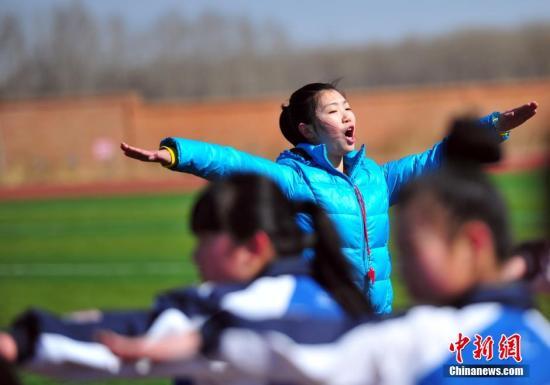 资料图:乡村体育教师也大多要求达到本科水平。<a target='_blank' href='http://www.chinanews.com/'>中新社</a>发 于海洋 摄