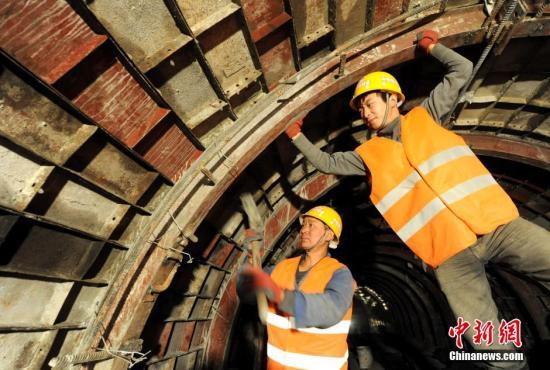 资料图关角隧道。<a target='_blank' href='http://www.chinanews.com/' rel=