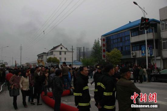 江苏如皋化工厂爆炸已致3人消亡 5人下落不明