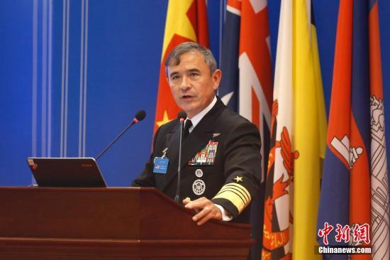 美军太平洋司令部司令哈里斯。