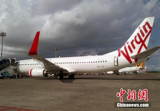 资料图:维珍航空客机。图片来源:CFP视觉中国