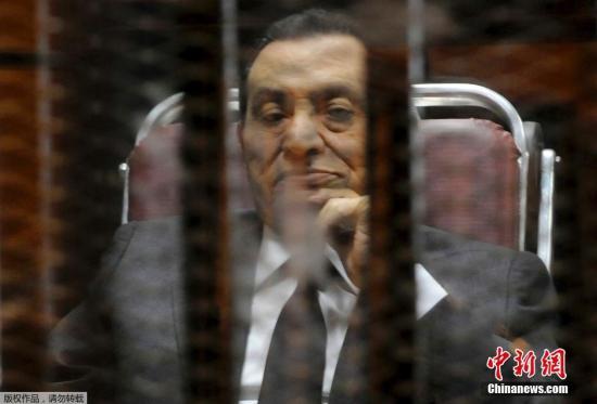 埃及法院推翻对穆巴拉克监禁判决 下令重申贪污案