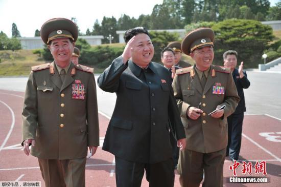 资料图片:朝鲜最高领导人金正恩。