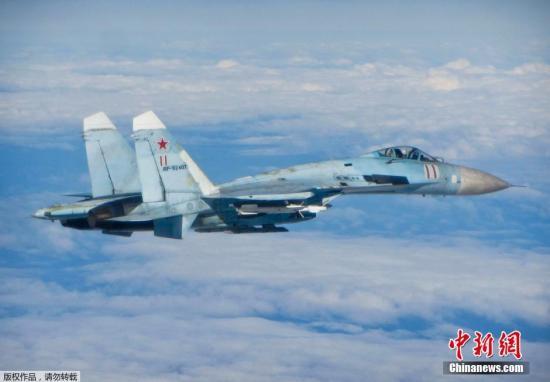美德两架军机飞近俄边境 俄苏-27战机升空拦截
