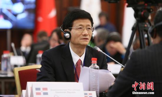 資料圖:中共中央政治局委員、中央政法委書記孟建柱 賈靖峰 攝